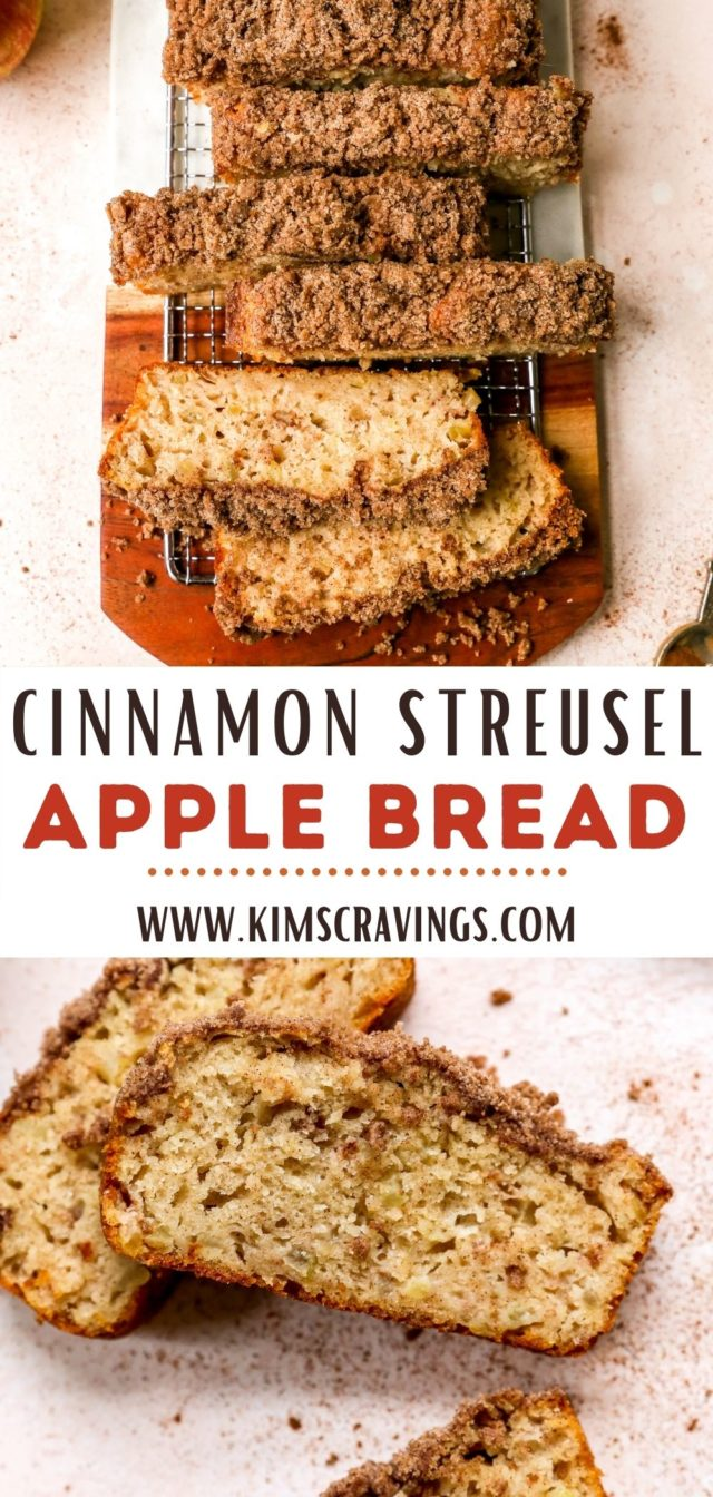 how to make Cinnamon Streusel Apple Bread