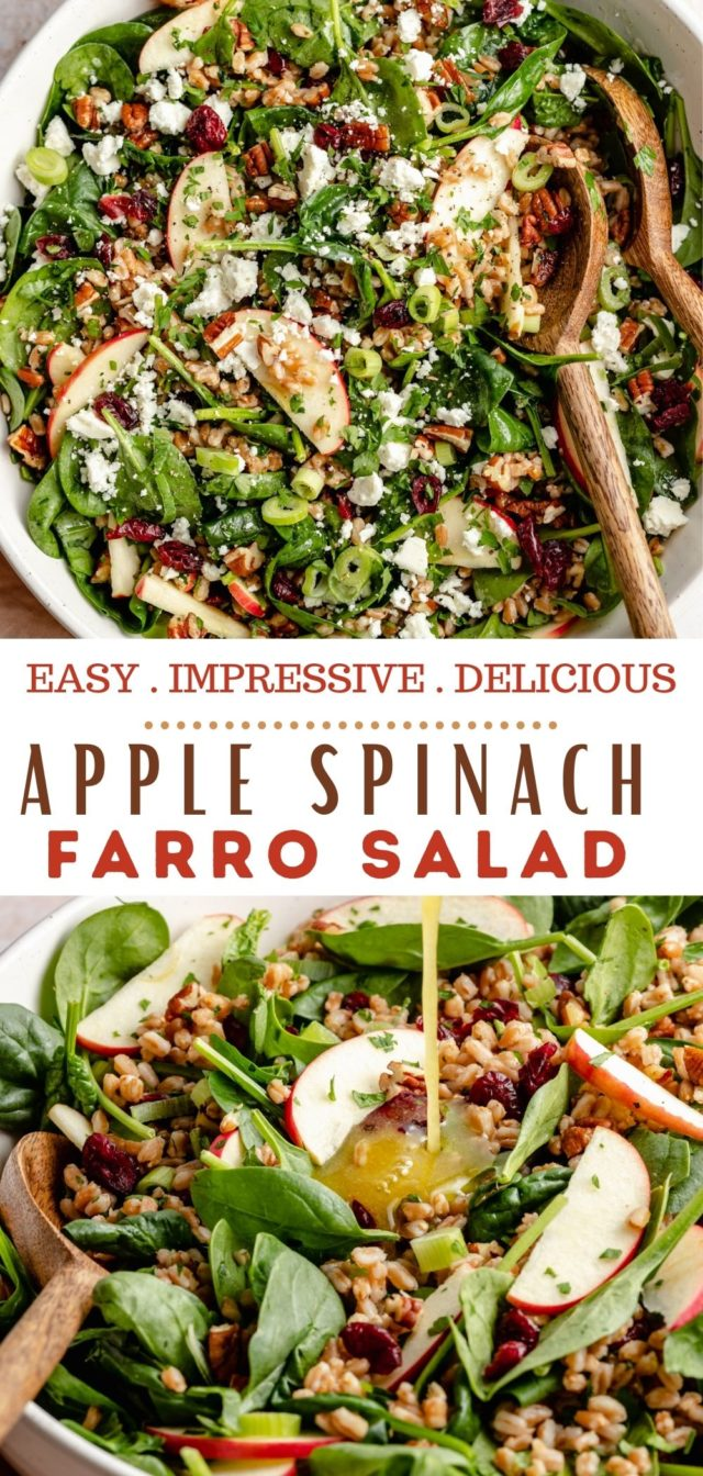 how to make a farro salad