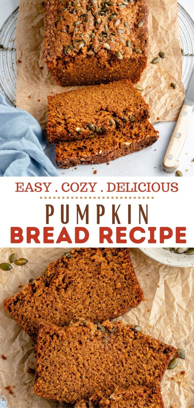 how to make the Best Pumpkin Bread