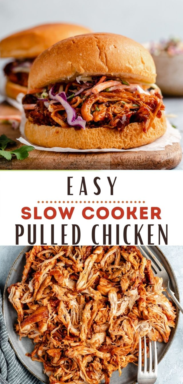 easy recipe for crockpot BBQ chicken