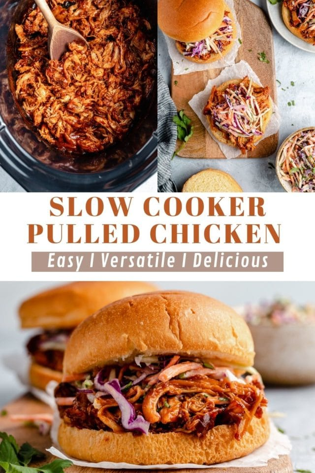 how to make pulled chicken in the slow cooker