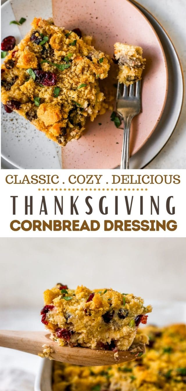 cornbread dressing recipe for Thanksgiving
