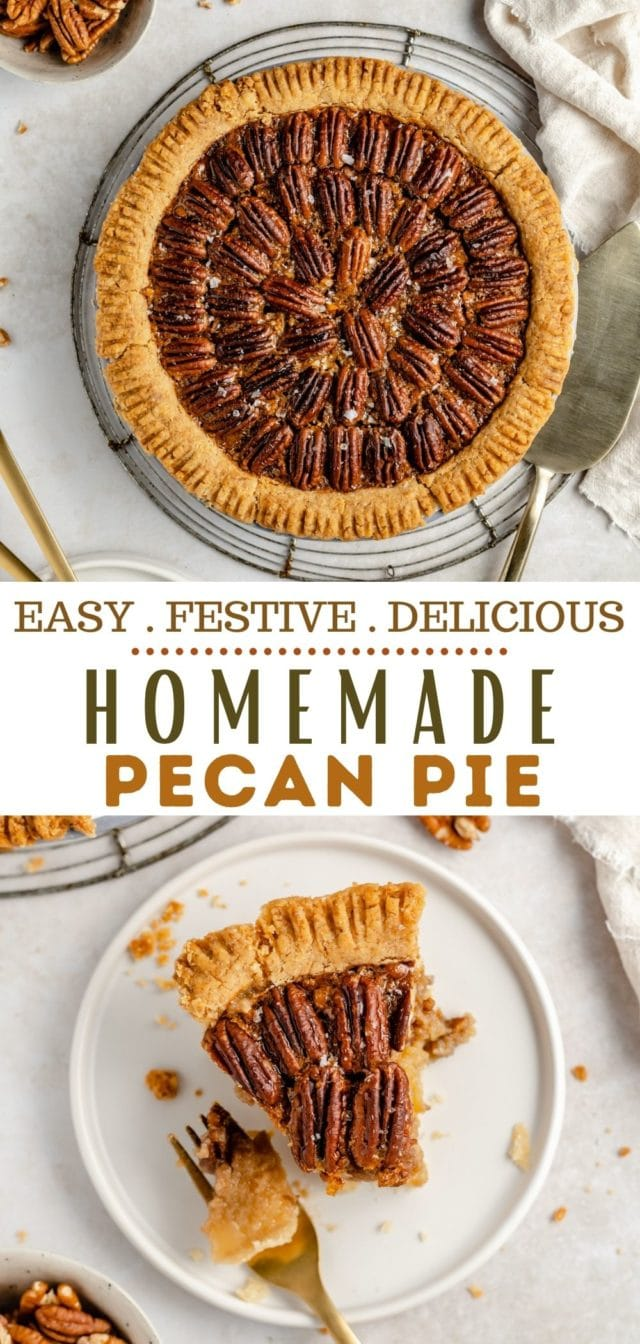 how to make a classic pecan pie