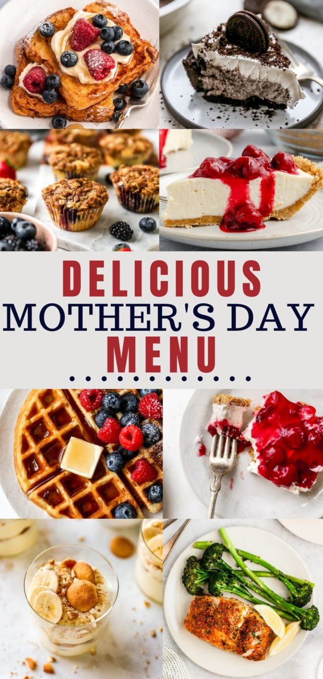 Mother's Day menu recipes