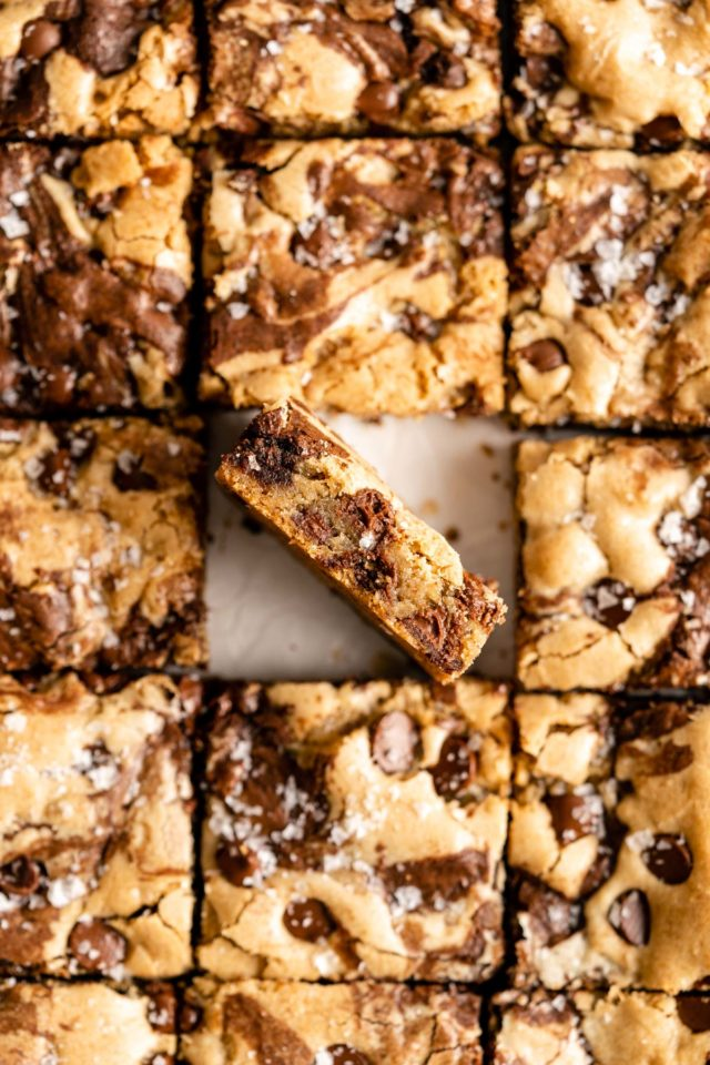 brookies cut into squares