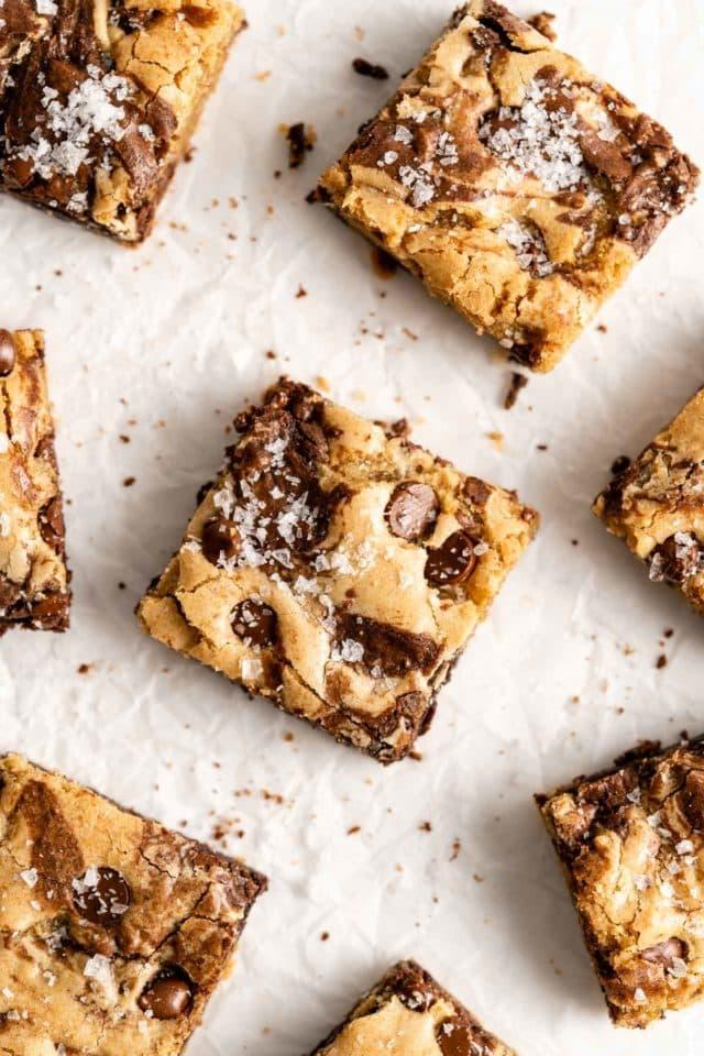 brookie brownie cookie bar